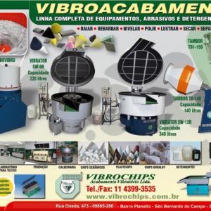 Maquinas e equipamentos de tratamento superficial